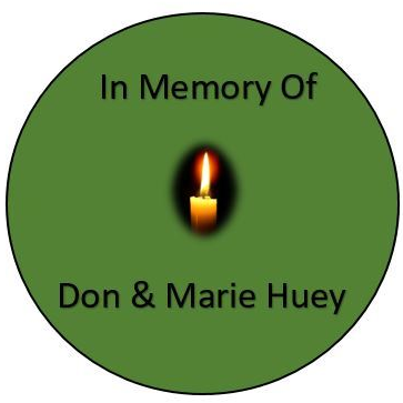 In Memory of Don & Marie Huey
